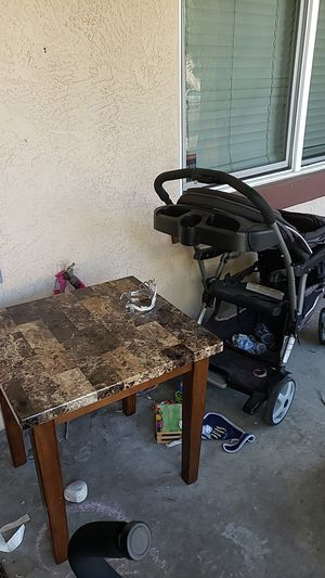 End table and double stroller for Sale in San Diego, CA