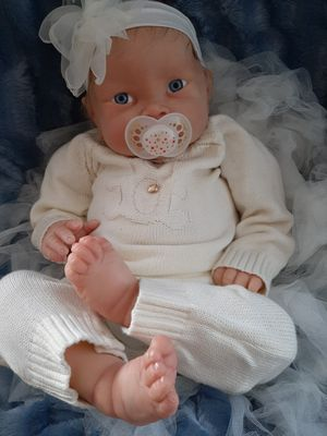 Reborn doll realistic one of a kind hand made for Sale in Santa Ana, CA