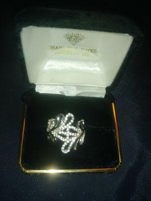 RSC/CZ Fancy Swirl Ring for Sale in Beaumont, TX