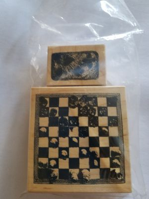 Games rubber stamp set for Sale in Chicago, IL