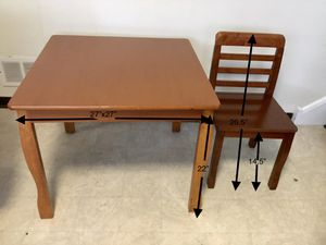 Kids tables and one chair for Sale in Lake Zurich, IL