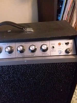 Audio guild tube amplifier for Sale in San Tan Valley, AZ