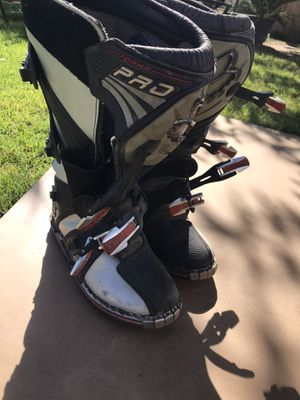 Riding boots dirt bike for Sale in Fresno, CA