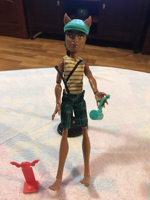 Good Condition Monster High Boy Doll $10 Firm / Mpu for Sale in San Antonio, TX