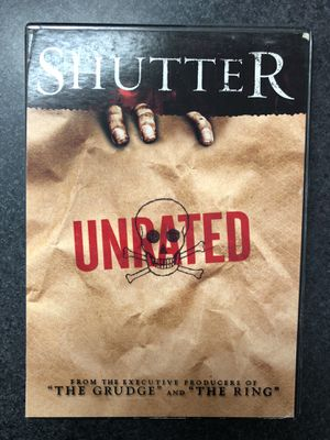 Shutter DVD - Unrated Edition for Sale in Griswold, CT