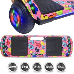 Latest Generation Electric Hoverboard Build-in Bluetooth Speaker Electric Self Balancing Scooter Hover Board with LED Lights Safety Certified for Sale in City of Industry, CA
