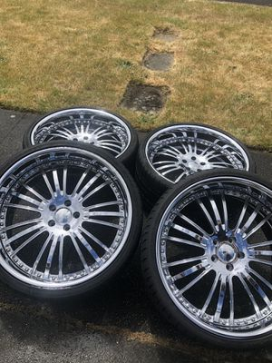 "22"" Forgeline chrome rims for Sale in Auburn, WA"