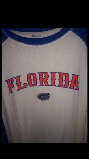 FLORIDA GATORS Long Sleeve Flannel Shirt Adult Large for Sale in Orange Park, FL