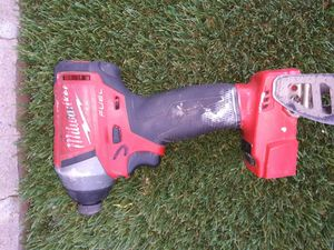 IMPACT DRILL MILWAUKEE FUEL BATTERY NOT INCLUDED for Sale in Phoenix, AZ