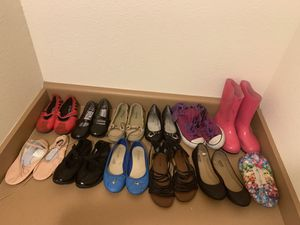 GIRLS SHOES 15 or less or OBO for Sale in Kissimmee, FL