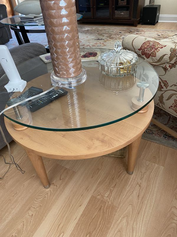 Sofa table and coffee table