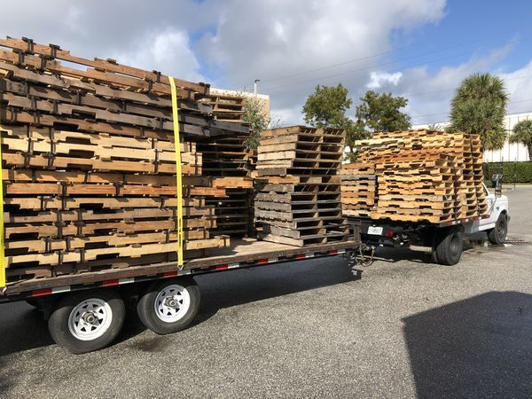 Wood pallets for sale for Sale in West Palm Beach, FL ...