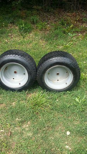 Lawn mower rear tires for Sale in Honea Path, SC