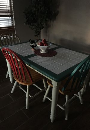 Tile top kitchen table free free table only for Sale in Sun City, AZ