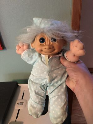Vintage Troll Plus Doll for Sale in Portland, OR