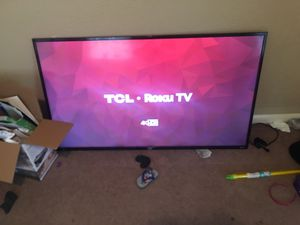TCL roku 4K tv for Sale in Dallas, TX