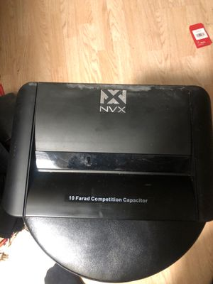 NVX 10 Farad Capacitor for Car Audio for Sale in Gurnee, IL