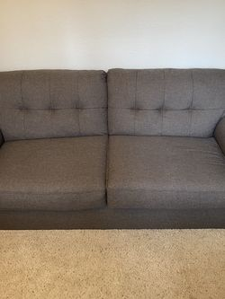 Beautiful grey excellent/like new condition pullout couch for Sale in Larkspur,  CA