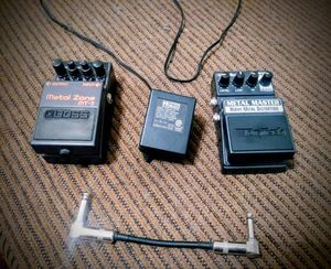 Metal Distortion Pedal Set for Sale in Las Vegas, NV