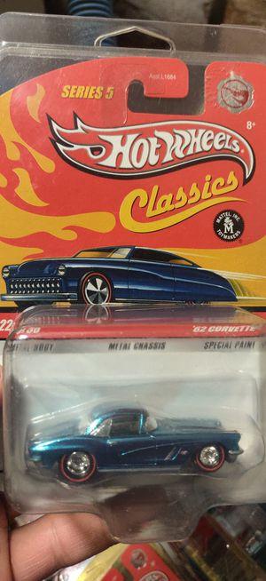 Hot wheels classics chase car 62 corvette for Sale in ESCONDIDO, CA