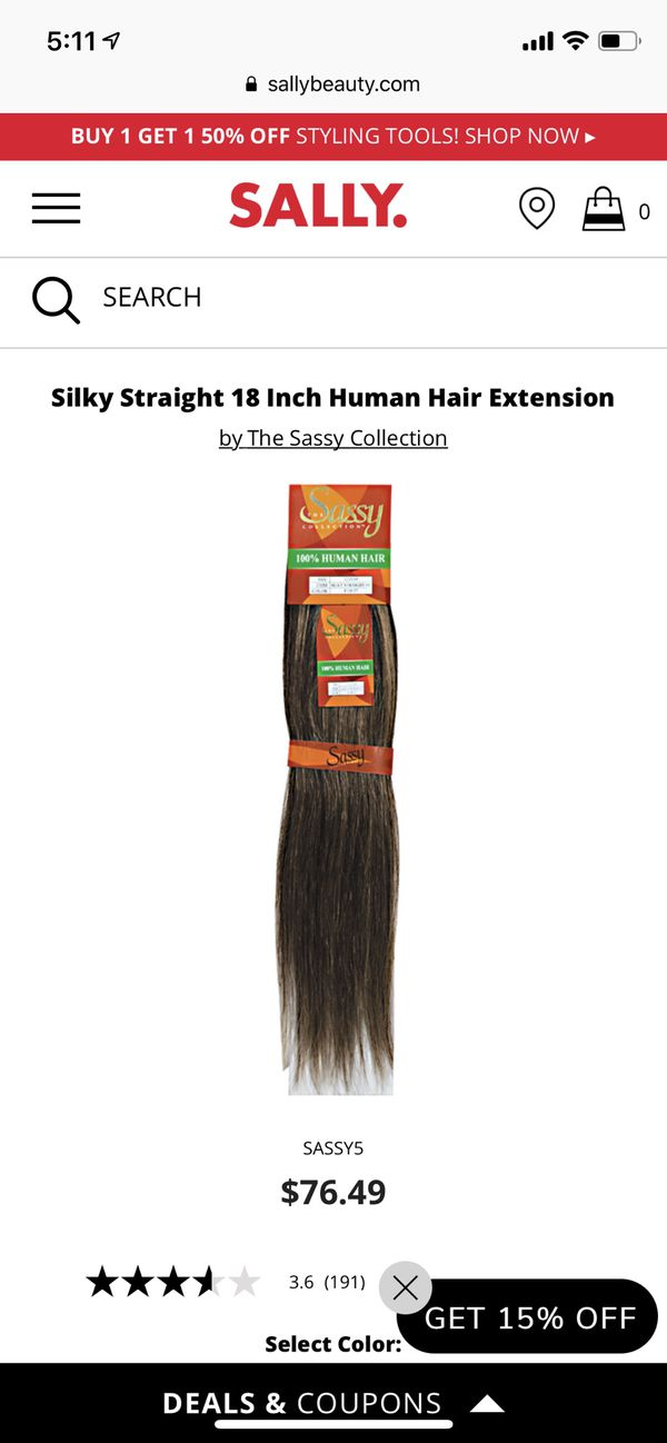 """*BRAND NEW* HUMAN HAIR 18"""" EXTENSIONS"""