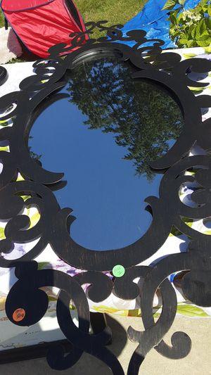 Pier 1 heavy wall mirror very unique. for Sale in Kent, WA