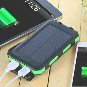 Brand New Solar Charger, 20000mAh Solar Power Bank Portable Charger for Camping External Battery Backup Charger with Dual 2 USB Port/LED Flashlights for Sale in Irvine, CA