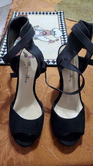Black heels for Sale in Kissimmee, FL