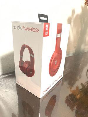 Beats Studio 3 Wireless Headphones for Sale in Carmichael, CA
