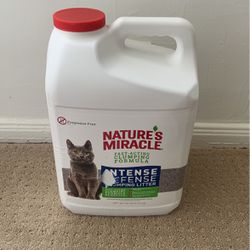 Nature's Miracle Intense Defense Fast-Acting Clumping Cat Litter 20 Lbs for Sale in Los Angeles,  CA
