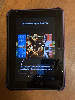 Amazon Kindle fire 7 inch tablet with case for Sale in Los Angeles, CA
