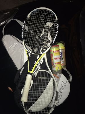 Dunlop Tennis Rackets x 2 for Sale in Pittsburgh, PA