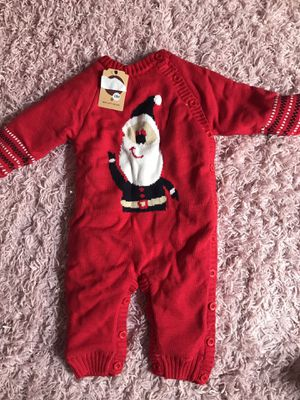 Fleece costume for baby Christmas for Sale in Los Angeles, CA