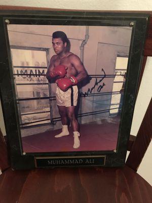 Muhammad Ali autographed picture $800 obo for Sale in Pompano Beach, FL