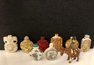 Antique Chinese Snuff Bottle Collection for Sale in Fort Lauderdale, FL