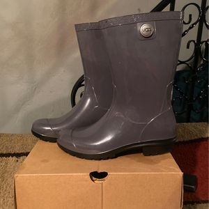 Grey Ugg Rain Boots for Sale in Philadelphia, PA