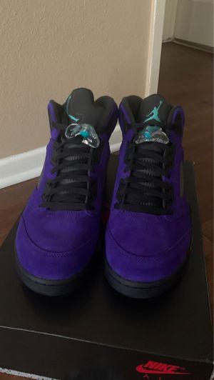 Air Jordan 5 Retro Purple Grape size 10.5 for Sale in Canoga Park, CA