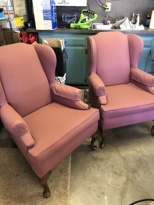 Wingback Chairs for Sale in Renton, WA