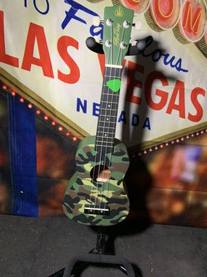 Honsing Camo Ukulele Guitar for Sale in Las Vegas, NV