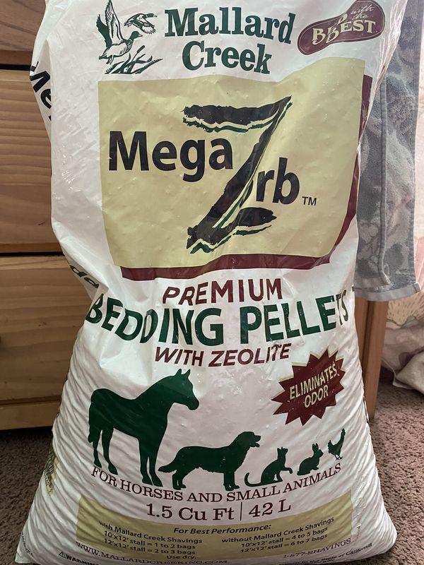 bedding pellets