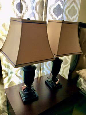 Table Lamps (2 pcs) for Sale in Saint Charles, MD