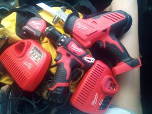 Milwaukee power tools and chargers for Sale in Tucson, AZ