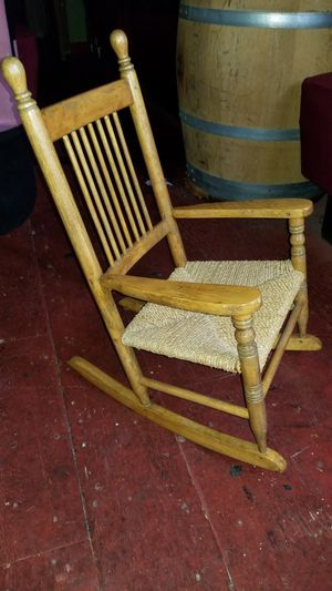 Baby size antique rocking chair for Sale in San Francisco, CA