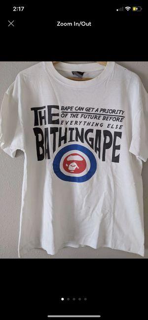Vintage 2004 Bullseye Bape Shirt for Sale in Chandler, AZ