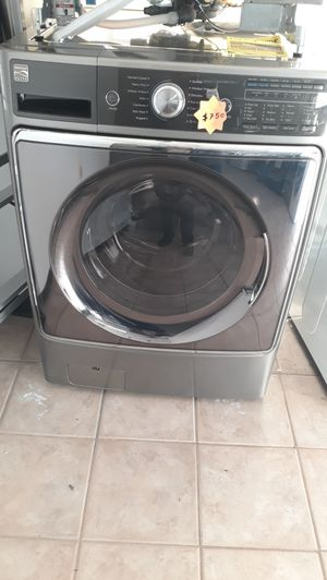 Stainless steel front load washer brand new scratch and dent for Sale in Laurel, MD