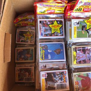 1988 Baseball Rack Packs (41) Packs for Sale in San Diego, CA