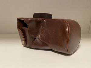 Sony Alpha 7 Leather Carry Case for Sale in New Haven, CT