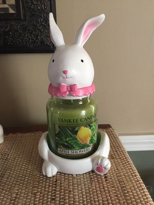 Yankee Candle Easter holder- fits large jar (candle not included) for Sale in Cleveland, OH