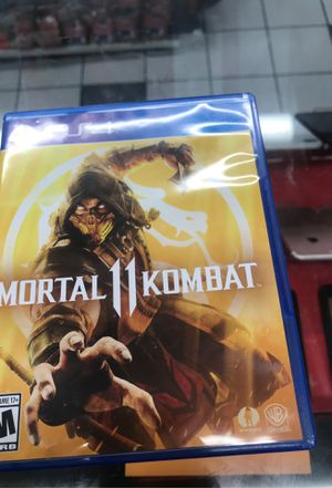 Mortal kombat 11 ps4 for Sale in St. Louis, MO