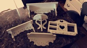 Floating shelves — set of 5 for Sale in Otsego, MN